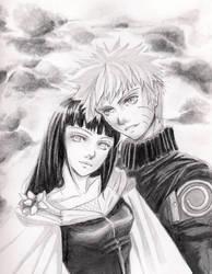 Naruto X hinata by Zedk