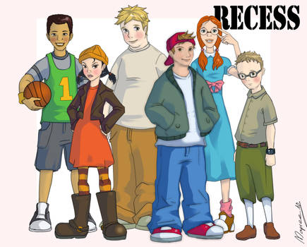 Recess... in my own style by Mapvee