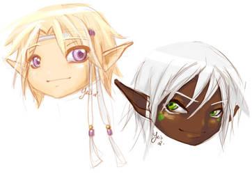 Lili et Momo by fatras-yris