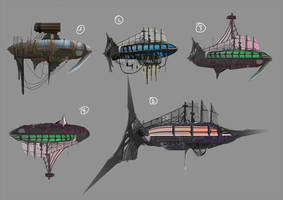 Zeppelin Concept by Remidubois