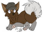 Dog Chibi by Dungonmast3r