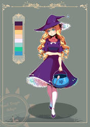 DAFFODIL WITCH AUNCTION [CLOSED] by bread-dragon-adopts