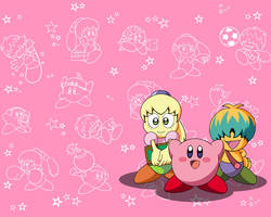 Kirby Anime Wallpaper by FumuLover