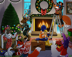 Holiday Preparations by Pheagle-Adler