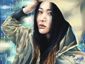 Raining Stars (f(x) Krystal) by cloverhearts