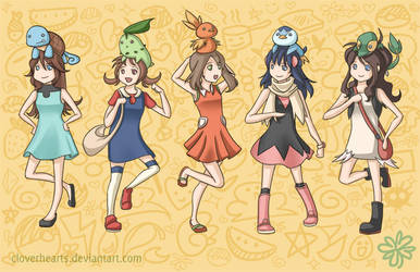 Ready, Set, Cheese! (Pokemon) by cloverhearts
