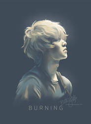 BURNING (CNBLUE's Lee Jong-hyun) by cloverhearts