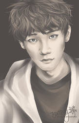 Sepia (EXO-M's Chen) by cloverhearts