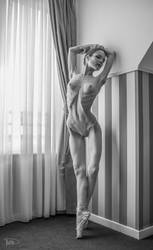 nude ballerina by philippe-art