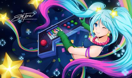 Arcade Sona by Suihara