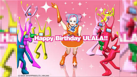 Happy Birthday, Ulala! Wallpaper HD by SAB64