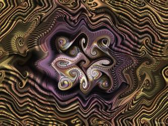 Sands Of Meditational Time by DayStarArts