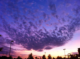 Purple Clouds by towerpower123