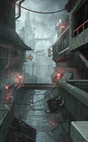 Wokoi City by JeremyPaillotin