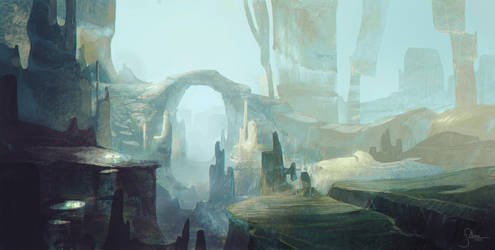 Canyon by JeremyPaillotin