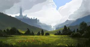 Northern grasslands by JeremyPaillotin