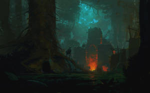 Some mysterious temple + Process video by JeremyPaillotin