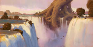Waterfalls + Process video by JeremyPaillotin