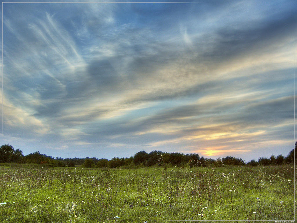 Sunset time 1 by spirik