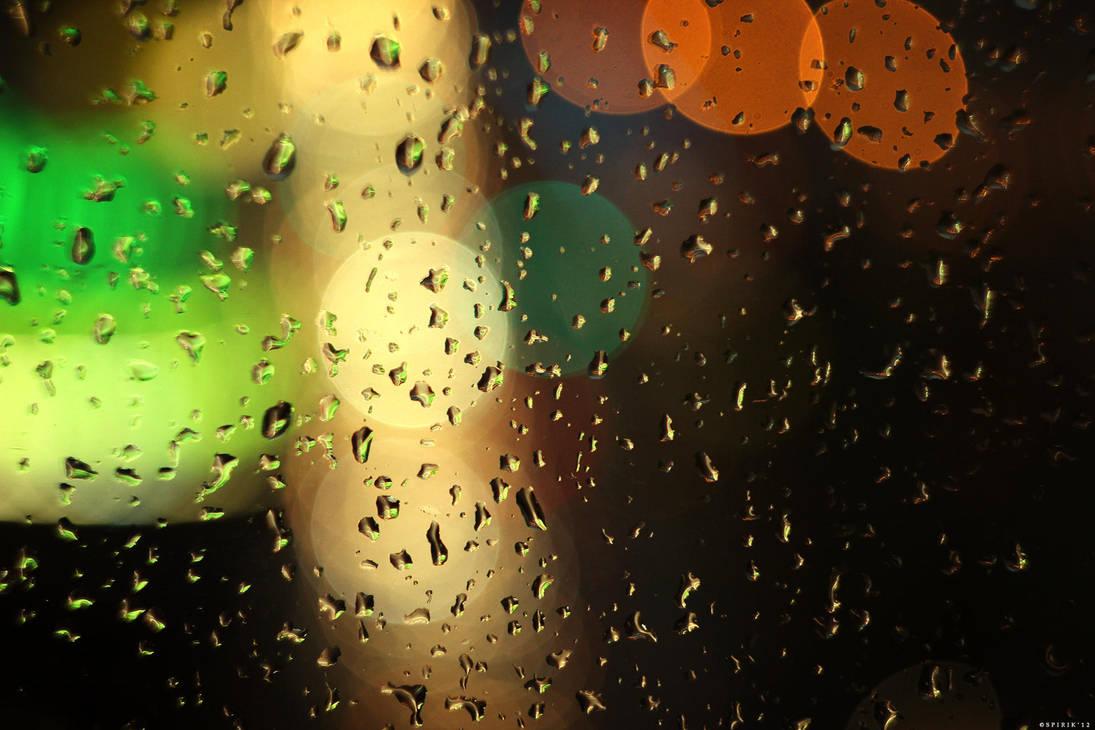 Raindrops - 05 by spirik