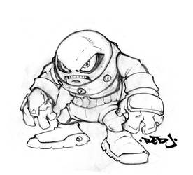 Little Juggy pencil sketch by Red-J