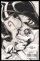 Wolvie VS Venom by Red-J
