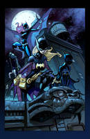 Batgirls by Red-J