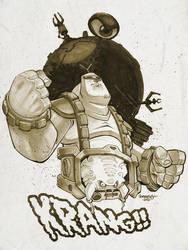 TMNT :: Krang by Red-J