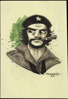 Che :: OC3 Head Sketch 04 by Red-J