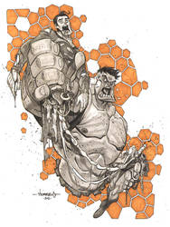 Hulk VS Superman :: Split Decision by Red-J