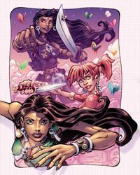 Valentines Warrior Ladies by Red-J