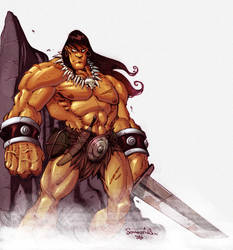 Conan in Colour by Red-J