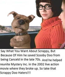 For All Those Scrappy Doo Haters Out There! by rowdyroughman