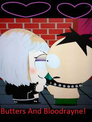 Butters And Bloodrayne: Hot Topic by rowdyroughman