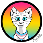 MangaAndCats Pride Badge by Murlott