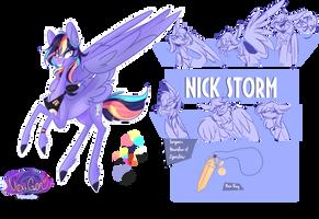 Yasyverse bio-Nick Storm by Heyyasyfox