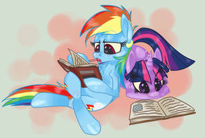 Reading Session by 8-Xenon-8