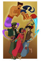Grimmwoods commission: Aladdin by iesnoth