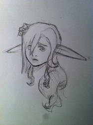 axelle sketch- The Damage is Done! by NamelessObsidian22
