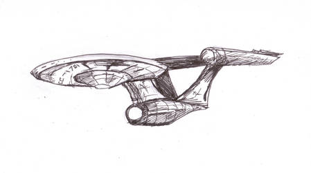 Starship Enterprise by Michael-McDonnell