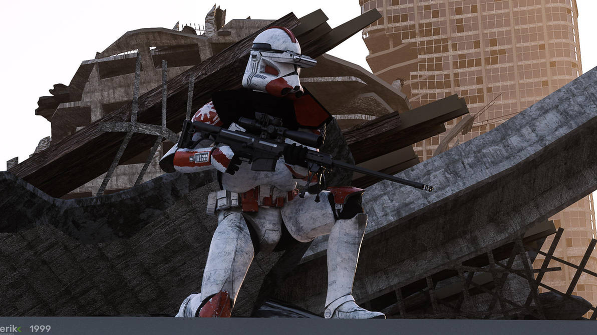 332nd Scout Trooper by Erik-M1999