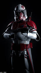Commander Thorn joins the battle... by Erik-M1999