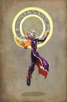 Everlon Yurk - Master Conjurer by Narthyxa