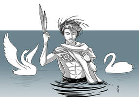 Aengus Og - Irish God of Love by Narthyxa