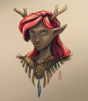 Eden - Satyr Druid by Narthyxa