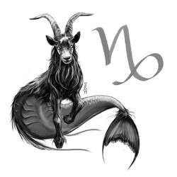Capricorn - The Sea Goat by Narthyxa