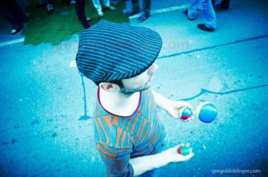 juggling I by inkoginko