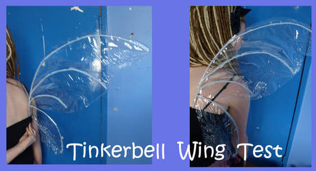 Tinkerbell wing test by flames-of-monki