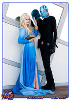 Abe and Nuala in Cosplay Fever by flames-of-monki
