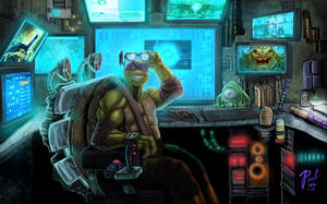 donnie's workstation :) by Superpael